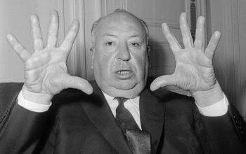 Hitchcock parla in italiano, video!
